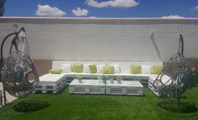 Palets muebles de jardin-1